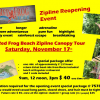 Red Frog Beach Zipline Reopening Event
