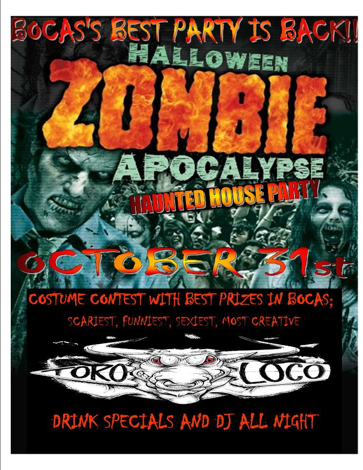 Halloween Zombie Apocalypse Haunted House Party  Bocas. Premade Laundry Room Cabinets. Living Room Carpet Tiles. Country Kitchen Decor. Game Room Furniture Cheap. Americana Decorations. Outdoor Garden Decorations. Decorative File Boxes. Halloween Decorations Potion Bottles