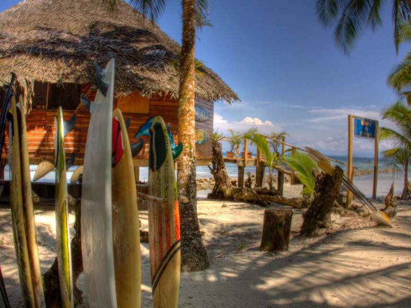 Bibis on the Beach restaurant Bocas del Toro 11 Isla Carenero