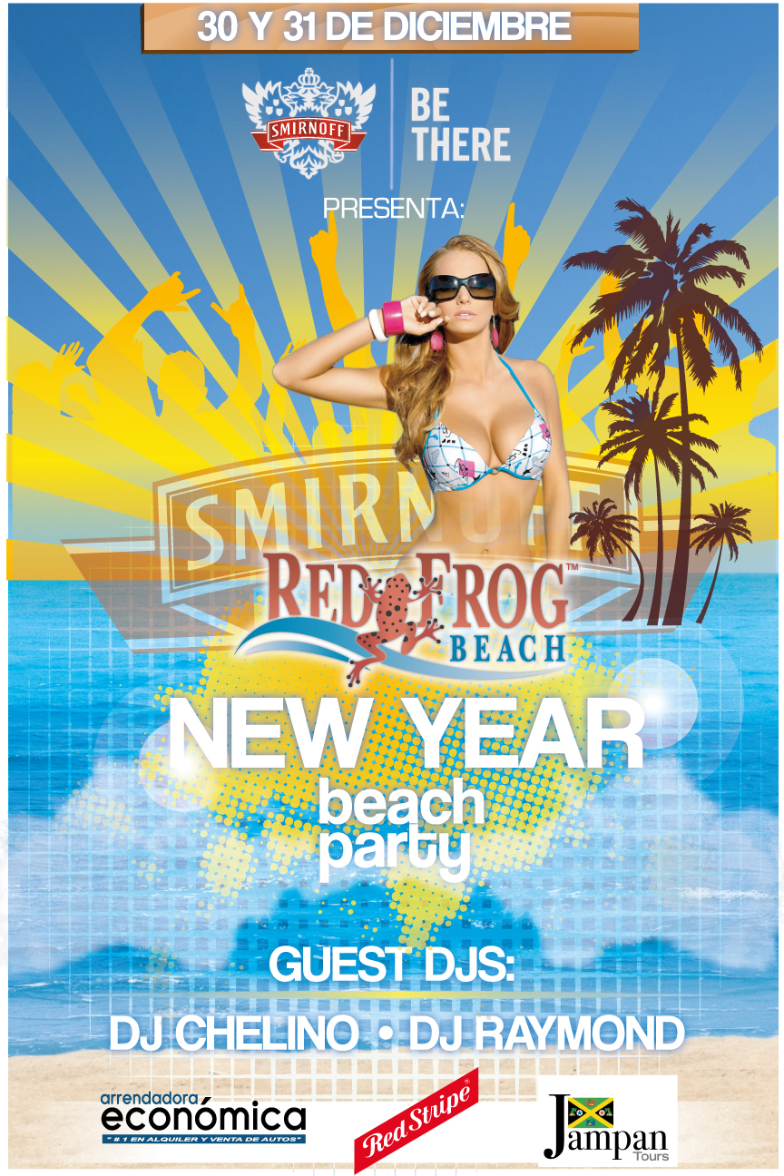 Red Frog Smirnoff Beach Party December 2012