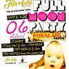 Full Moon Pool Party at Pukalani Hostal Panama