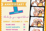 Celebrate 1 year of Taco Surf Bocas